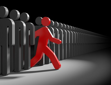 Different people. Run to new opportunities; Shutterstock ID 266763515; PO: Zeus